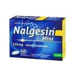 Nalgesin Mini 10 tabletek