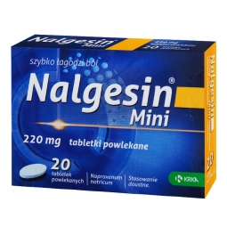 Nalgesin Mini 20 tabletek