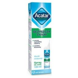 Acatar Hipertonic spray do nosa 100ml