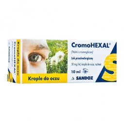 Cromohexal krople do oczu 10ml