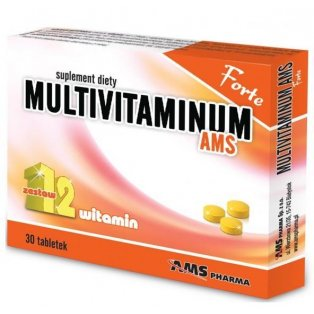 Multivitaminum AMS Forte 30 tabletek