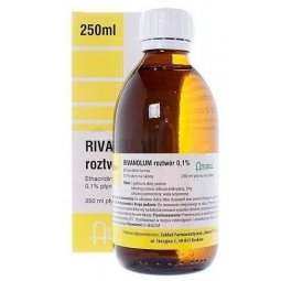 Rivanolum 0,1% płyn 250 ml Amara