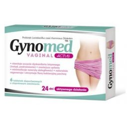 Gynomed Vaginal Active 6tabletek