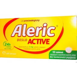 Aleric Deslo Active 5mg 10tabletek