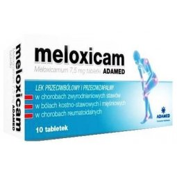 Meloxicam Adamed 7,5mg 10tabletek
