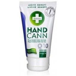 Hemp krem z konopi do rąk handcann z koenzymem Q10 75 ml