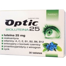 Optic Bioluteina 25 30tabletek