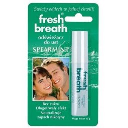 Fresh Breath odświeżacz do ust Spearmint 10g