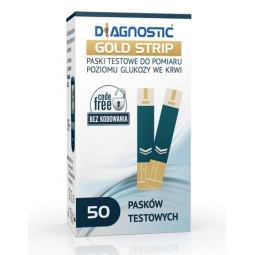 Diagnostic Gold Strip test paskowy 50pasków
