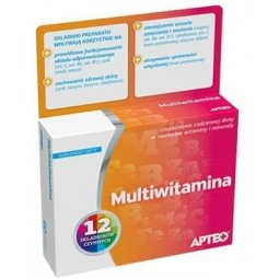 Multiwitamina 30tabletek Apteo