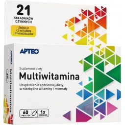 Multiwitamina 60tabletek Apteo