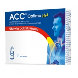 ACC Optima Hot 600mg 10saszetek