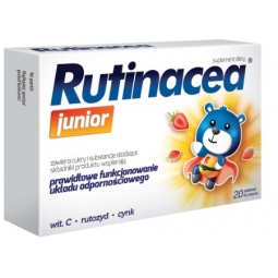 Rutinacea Junior 20tabletek do ssania