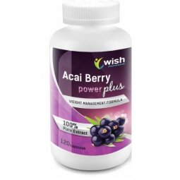 Jagoda Acai Berry Power Original Plus 120kapsułek Wish Pharmaceutical