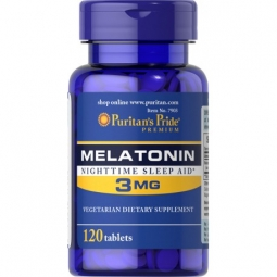 Melatonina 3mg 120tabletek Puritans Pride