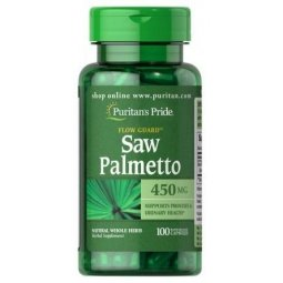 Saw Palmetto 450mg 100kapsułek Puritans Pride
