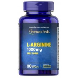 L-Arginina 1000mg 100tabletek Puritans Pride
