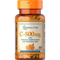 Witamina C 500mg 100tabletek Puritans Pride
