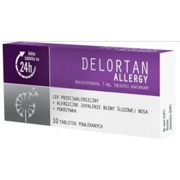 Delortan Allergy 5mg  10tabletek