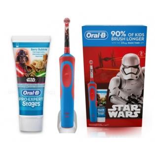 Oral B Kids Vitality Szczoteczka Elektryczna Do Zębów Dla Dzieci
