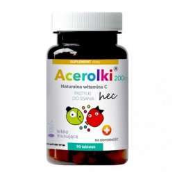 Acerolki 90tabletek do ssania Hecpharma