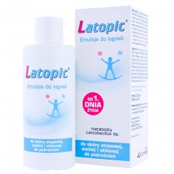 Latopic emulsja do kąpieli 400ml