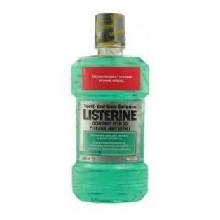 Listerine Teeth and Gum Defence Płyn Ochrona zębów i dziąseł 500 ml