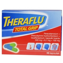 Theraflu Total Grip 16kapsułek