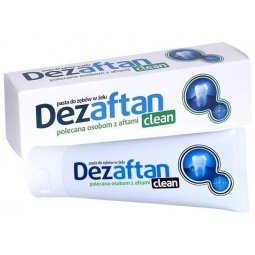 Dezaftan Clean Pasta do zębów 75ml