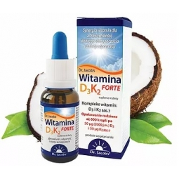 Dr Jacobs witamina D3 K2 Forte 20ml