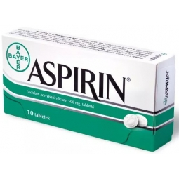 Aspirin Bayer 500mg 10tabletek