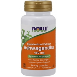 Now Foods Ashwagandha 450mg 90kapsułek