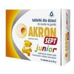 Akron Sept junior 18tabletek