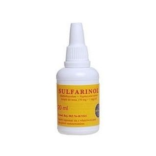Sulfarinol krople do nosa 20ml