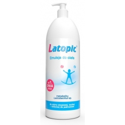 Latopic Emulsja do ciała 1000ml