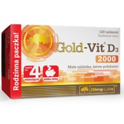 Olimp Gold-Vit D3 2000 120tabletek