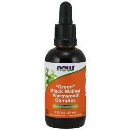 Now Foods Green Black Walnut Wormwood Complex 59ml