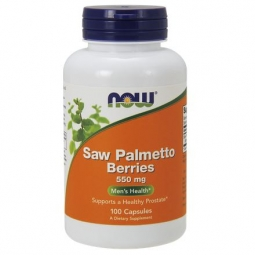 Now Foods Palma Sabalowa 550mg (Saw palmetto berries) 100kapsułek