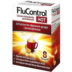 FluControl Hot 8saszetek