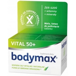 Bodymax Senior 50+ 600tabletek