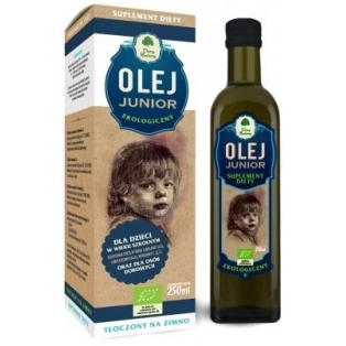 Olej junior 250 ml BIO Dary Natury