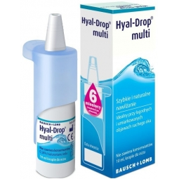 Hyal-Drop Multi krople do oczu 10 ml