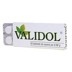 Validol 60mg 10tabletek do ssania