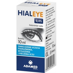 Hialeye 0,4% krople do oczu 10ml