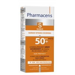Pharmaceris S Sun Protect Hydrolipidowy krem ochronny do twarzy SPF 50+ 50ml