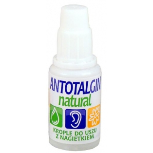 Antotalgin Natural krople do uszu 15g