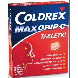 Coldrex Maxgrip C 24tabletki