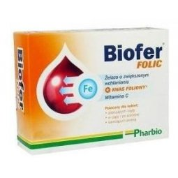 Biofer Folic 40tabletek