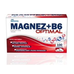 Magnez+B6 Optimal 100tabletek