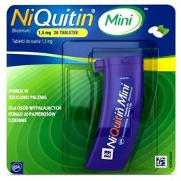 NiQuitin Mini 1,5mg 20tabletek do ssania